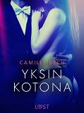 Cover for Yksin kotona - eroottinen novelli
