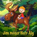 Cover for Jim möter Herr Älg
