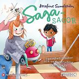 Cover for Sagasagor. Bananbus, finskor och en superjobbig superhjälte