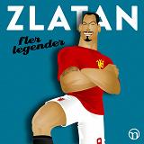 Cover for Zlatan: Fler legender
