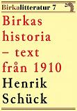 Cover for Birkas historia. Birkalitteratur nr 7. Återutgivning av text från 1910