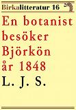 Cover for En botanist besöker Björkön år 1848. Birkalitteratur nr 16. Återutgivning av text från 1870