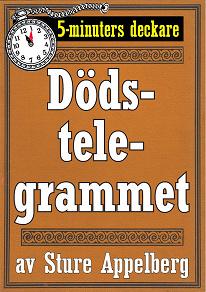 Cover for 5-minuters deckare. Dödstelegrammet. Återutgivning av text från 1944