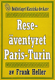Cover for Reseäventyret Paris—Turin. Återutgivning av text från 1935