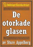 Cover for 5-minuters deckare. De otorkade glasen. Återutgivning av text från 1944