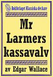 Cover for Mr Larmers kassavalv. Återutgivning av text från 1930