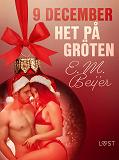 Cover for 9 december: Het på gröten - en erotisk julkalender