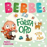 Cover for Bebbes första ord