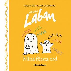 Cover for Lilla Spöket Laban – Mina första ord