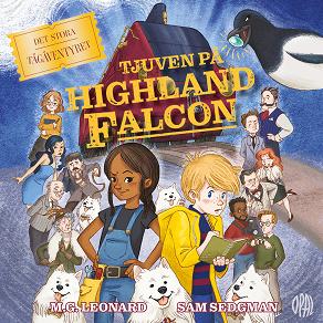 Cover for Det stora tågäventyret - Tjuven på Highland Falcon