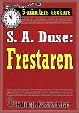 Cover for 5-minuters deckare. S. A. Duse: Frestaren. Berättelse. Återutgivning av text från 1921