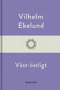 Cover for Väst-östligt