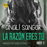 Cover for La razón eres tú: Gris acerado, verde ardiente