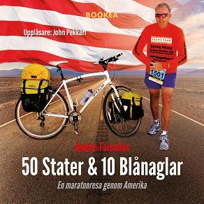 Cover for 50 Stater & 10 Blånaglar - En maratonresa genom Amerika