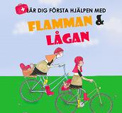 Cover for Flamman & Lågan - lär dig första hjälpen