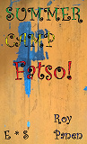 Cover for SUMMER CAMP Fatso! (English / Swedish)