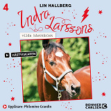 Cover for Indra Larssons vilda hästkärlek