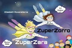 Cover for ZuperZara & ZuperZorro,  10 sagor om barns rätt