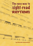 Cover for The easy way to sight-read rhythms