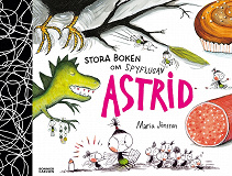 Cover for Stora boken om Spyflugan Astrid