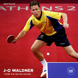 Cover for Jan-Ove Waldner – When the Feeling Decides