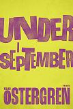 Cover for Under i september
