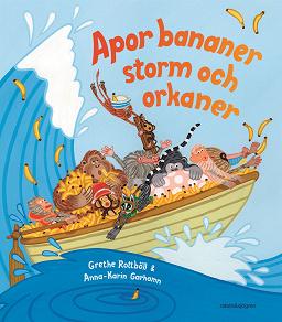 Cover for Apor, bananer, storm och orkaner