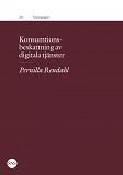Cover for Konsumtionsbeskattning av digitala tjänster