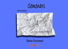 Cover for Semenars - First release