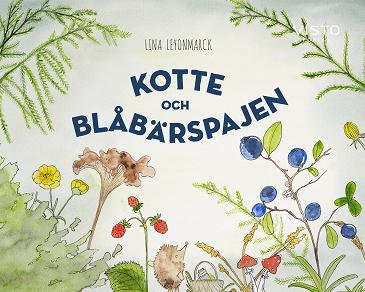 Cover for Kotte och blåbärspajen