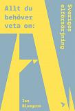 Cover for Allt du behöver veta om Sveriges elförsörjning