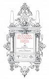 Cover for Svenska kvinnan genom seklen. 10 bilder med text och teckningar af Carl Larsson. Efter målningar i nya elementarläroverket i Göteborg. Återutgivning av bok från 1921