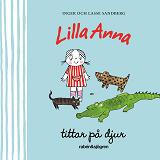 Cover for Lilla Anna tittar på djur