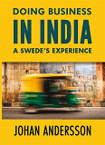 Cover for Doing Business in India A SWEDE'S EXPERIENCE
