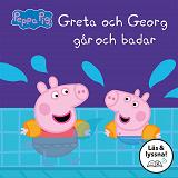 Cover for Greta och Georg går och badar : Läs & lyssna
