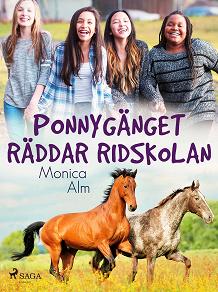 Cover for Ponnygänget räddar ridskolan