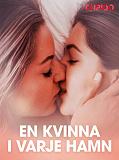 Cover for En kvinna i varje hamn – erotisk novell