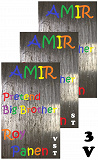 Cover for AMIR Pretend Big Brother  (3 versions)