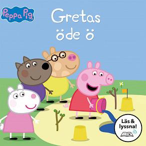 Cover for Gretas öde ö (Läs & lyssna)