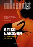 Cover for Flickan som lekte med elden (lättläst version)