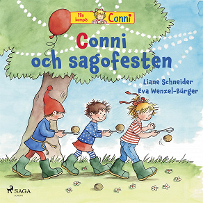 Cover for Conni och sagofesten