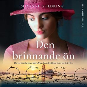 Cover for Den brinnande ön