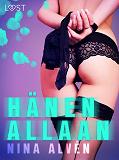 Cover for Hänen allaan - eroottinen novelli