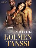 Cover for Kolmen tanssi - eroottinen novelli