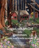 Cover for Sagan om trollet och gumman som inte kunde somna