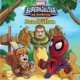 Cover for Marvel - Superhjältar på äventyr - Sandfällan