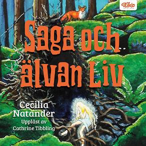 Cover for Saga och älvan Liv