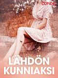 Cover for Lähdön kunniaksi – eroottinen novelli