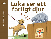 Cover for Luka ser ett farligt djur