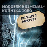Cover for En tjuv i arkivet